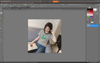 Corel PaintShop Pro X6, X7, X8, X9 작업공간 늘리기