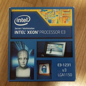 """인텔 CPU, """"제온 E3-1231v3"""" 사용기, 벤치마크"""