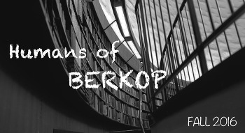 BERKOP 13기 :: Humans of BERKOP [영어칼럼]