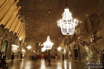 [폴란드여행] 세계문화유산 1호 비엘리치카 소금광산, 소금이 만들어낸 아름다움