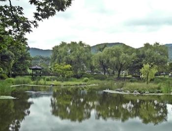 천안의 옛 정취가 가득한 천안 삼거리 공원