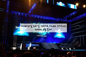 데이타파일 스타일 (DATA FILEE STYLE) 2016년 8월 통계