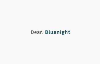 Dear. Blue night