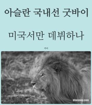 비운의 아슬란 국내선 굿바이, 미국서만 데뷔하나