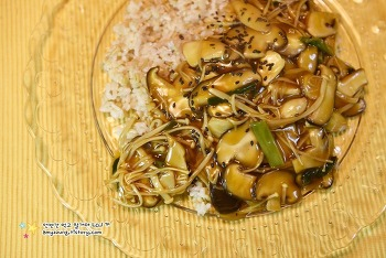 가볍고 건강한 한그릇 버섯요리 '버섯덮밥 만드는 법'