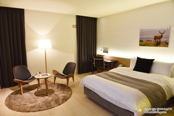 깔끔하고 현대적인 호텔 '더클래식호텔'과 조식 | 완주여행