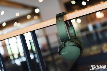 블루투스 헤드폰 MDR-XB950N1 청음 후기