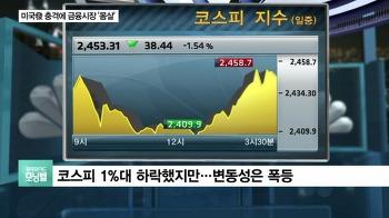 증시 폭락, 하락 이유는 외국인 기관 투자자 매매동향