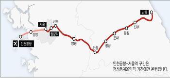 [국토교통부] 서울 강릉 KTX 열차운행계획 수립 - 2017년 12월 말 개통