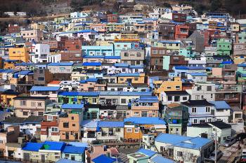 [부산 / 감천문화마을] 감천문화벽화마을 # 4박5일 부산여행 2017