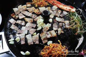 <서울 신월동> 솥뚜껑 삼겹살 일등삼겹살데이 맛집