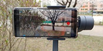 스마트폰 짐벌 페이유 Vimble 2 3축 핸드짐벌 추천