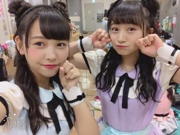 171120 혼고 유즈하 블로그 번역 「쌍둥이 헤어의 낮밤공연!」