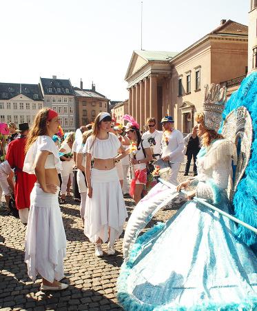 코펜하겐, 스트뢰에 거리축제