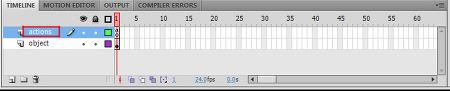 Flash/Flex AS3 - Timeline 코딩과 Flash 객체의 의미 Part.4