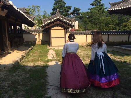 유카둘과 한국여행 2일째 경주