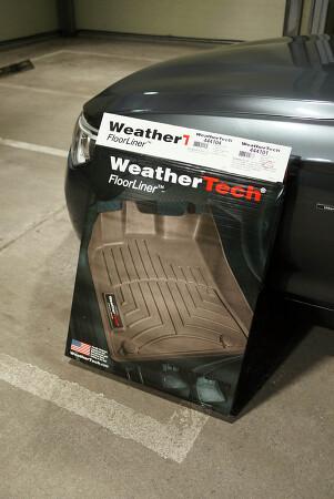 웨더텍 (WeatherTech) 매트 (FloorLiner) 구매, 장착 후기