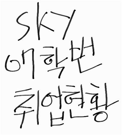 [펌자료] SKY 07학번 친구들 취업 현황