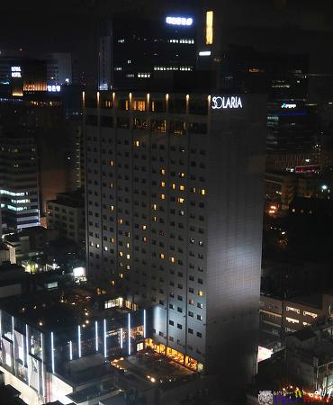 명동 솔라리아 니시테츠 호텔과 부대시설 그리고 현지화