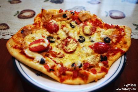 피자·소세지빵 만들기