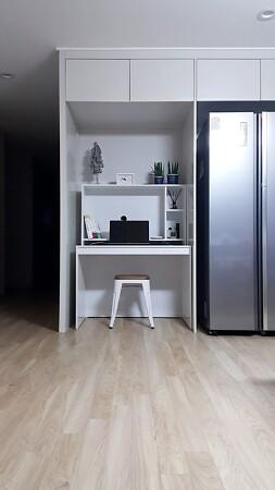 불필요하고 허전한 냉장고 자리 꾸미기
