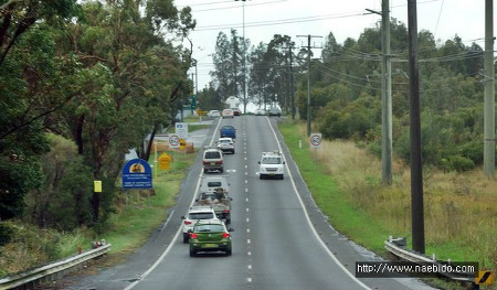 [호주]  시드니 4박6일 #3 - 블루마운틴가는길, 호주의 자동차 운전면허