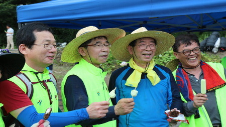 7.30(일) 충북 괴산 수해현장 피해지역 자원봉사자 활동