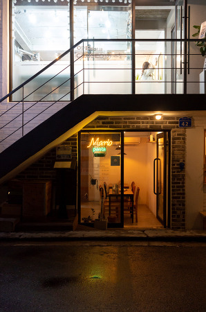 200930 _ 점심, 저녁 모두 '마리오파스타 Mario Pasta' @망원동 (점심은 아이폰XS사진)