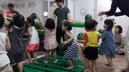 민찬 해소리 어린이집 참여수업 21일