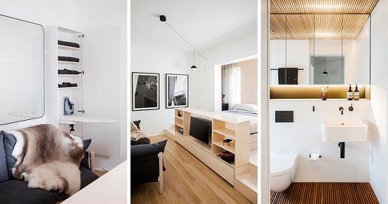 *협소주택 수납 해결방법 [ Architect Prineas ] Small Apartment_Storage Solutions