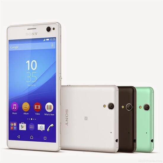 셀카 기능 강화 보급형 스마트폰 소니 엑스페리아 C4