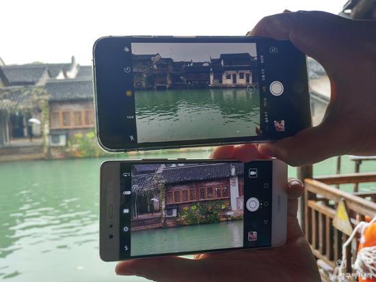 화웨이 P9 듀얼카메라와  아이폰7플러스 듀얼카메라로 사진을 촬영해보니