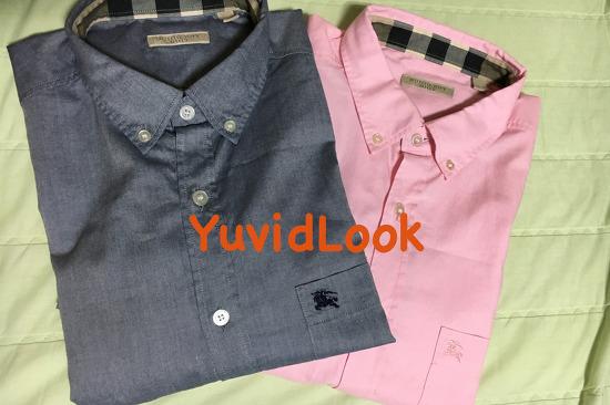 [YuvidLook 선물보고서] 버버리 브릿 남자 셔츠