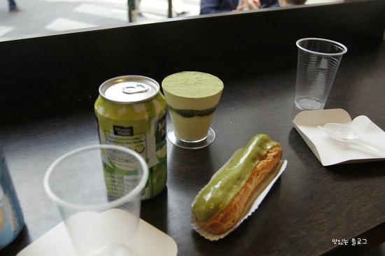 파리에서 꼭 가야하는 빵집 2편, 아키 블랑제리 말차 에클레어