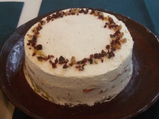(쌀크레이프생크림케이크) # 오색빛깔의  쌀크레이프생크림케이크만드는법