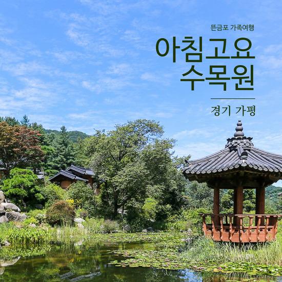 [뜬금포 가족여행 Part 2] 아침고요수목원을 정말 아침에 조용히 다녀왔어요 ^^