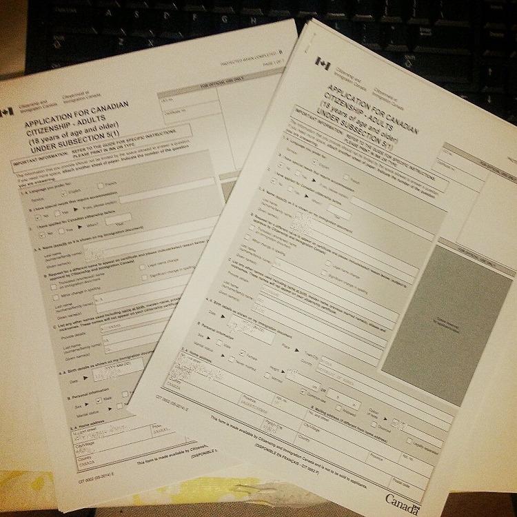 캐나다 시민권 신청 방법 & 시민권 신청 서류..