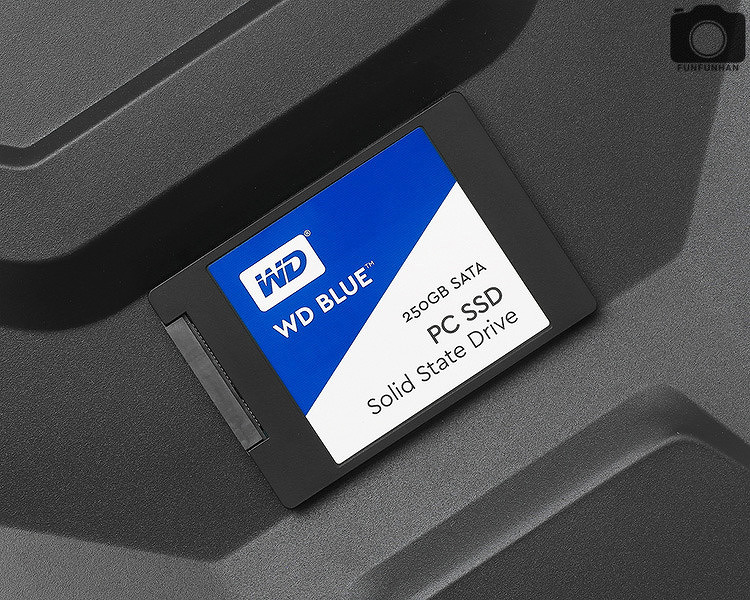 SSD는 HDD보다 얼마나 빠를까? WD Blue SSD 250GB 사용기!
