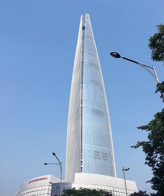 역대 우리나라 최고층 건물들