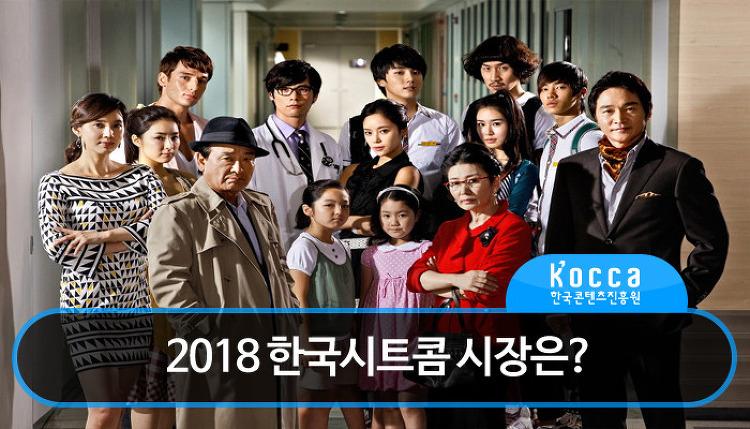 2018년 한국시트콤 시장은?