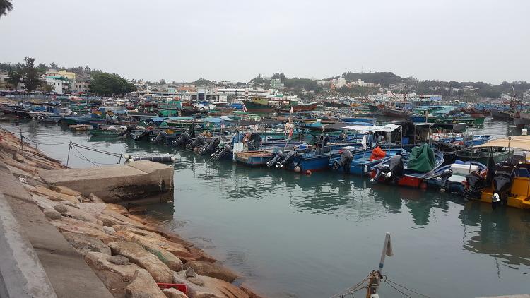 청차우 아일랜드 Cheung Chau Island 長洲에서 해산물요리를 먹다.