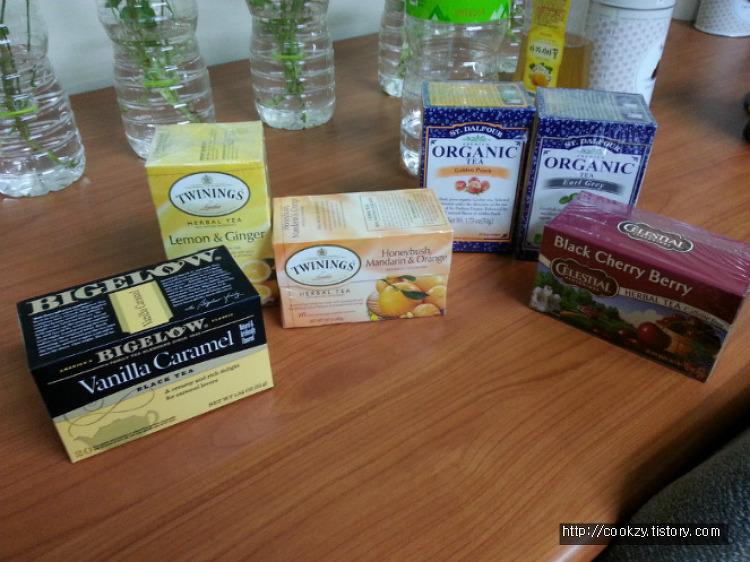 해외 Tea 직구
