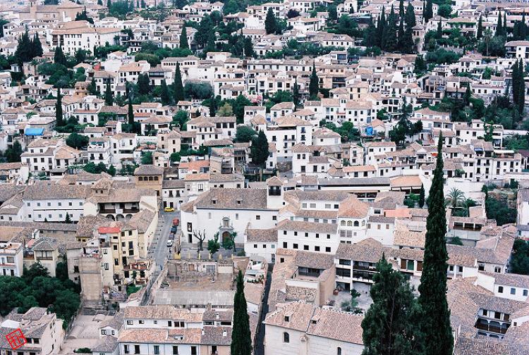 알함브라 궁전에서 / From Alhambra