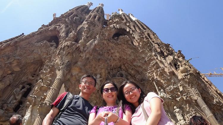마침내 나의 눈으로 직접 본 바르셀로나 성가족성당! 탄생의 문(Nativity Façade) 종탑부터 올라가자