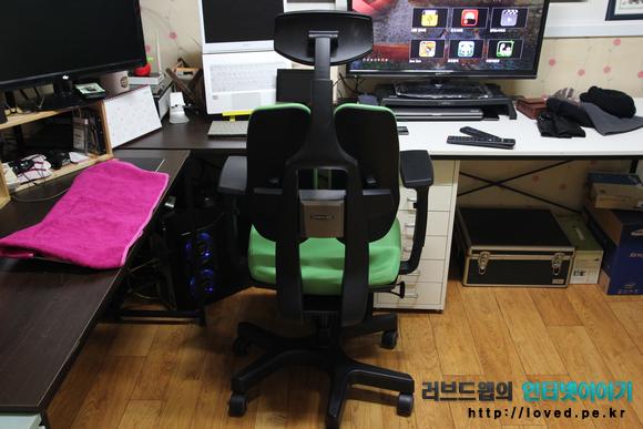 허리가 편안 의자, 의자, 듀오백 의자, 듀오백 2.0, 듀오백 등받이