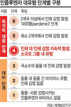 전염병 WHO 단계표