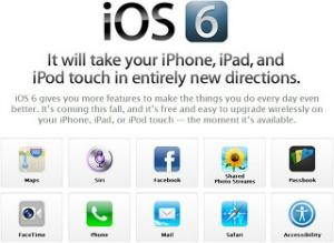 iOS6 새로운 기능