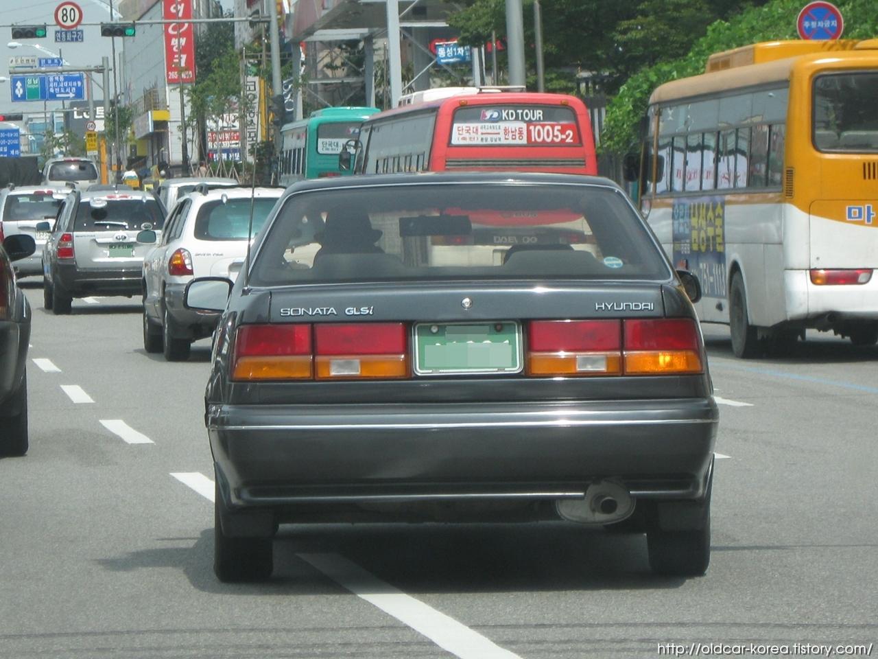 국산 자동차 이것저것 현대자동차 뉴 쏘나타 Y2 1988 Hyundai Sonata Y2
