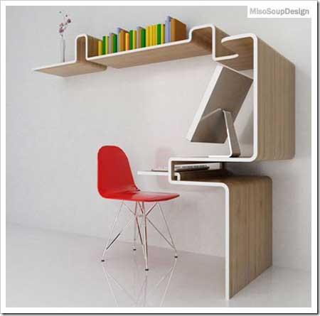 기쁜 우리 이 시간 :: 책장과 책상의 깔끔한 조화