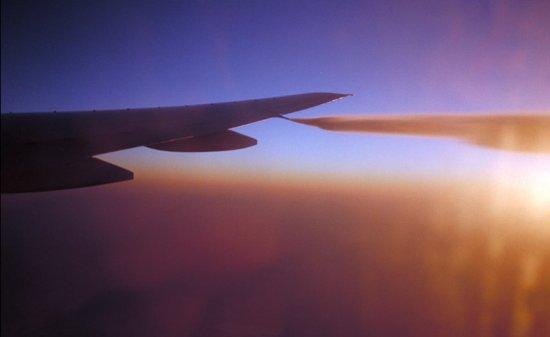아시아나 항공이 비상착륙 했던 B777 기종의 연료 배출(덤핑) 장면